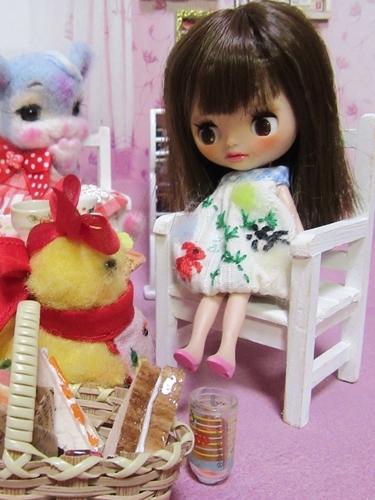 ブログ8リセ&ヒナ子