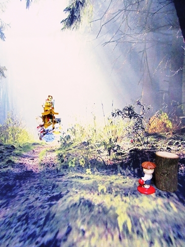 森の祭りラスト2
