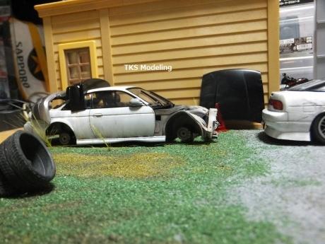 S14事故車物置 (5)