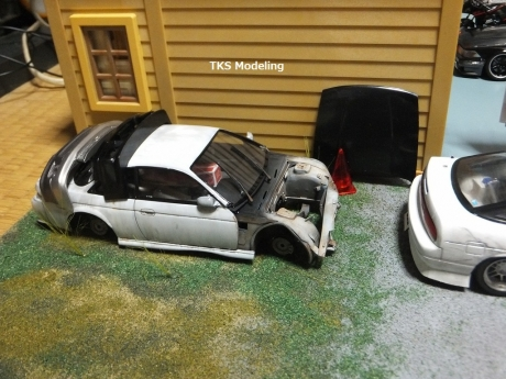 S14事故車物置 (4)