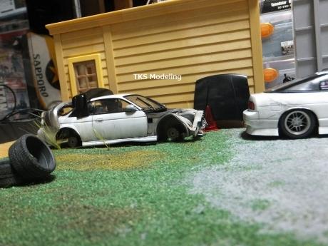 S14事故車物置 (6)
