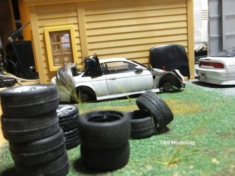 S14事故車物置 (9)