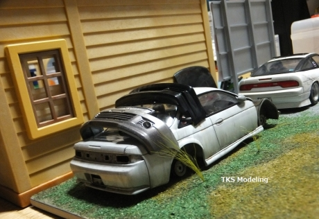 S14事故車物置 (8)