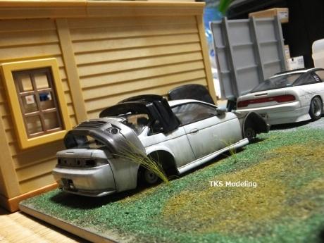 S14事故車物置 (7)