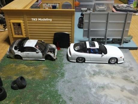 S14事故車物置 (10)