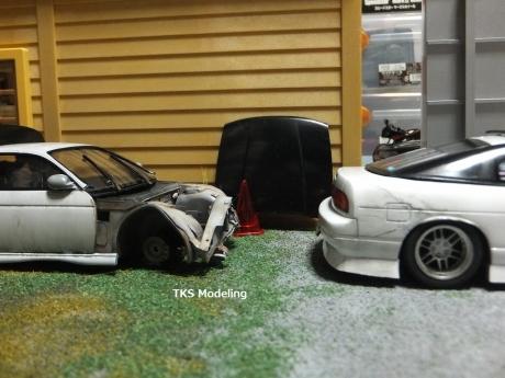 S14事故車物置 (12)