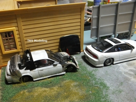 S14事故車物置 (11)