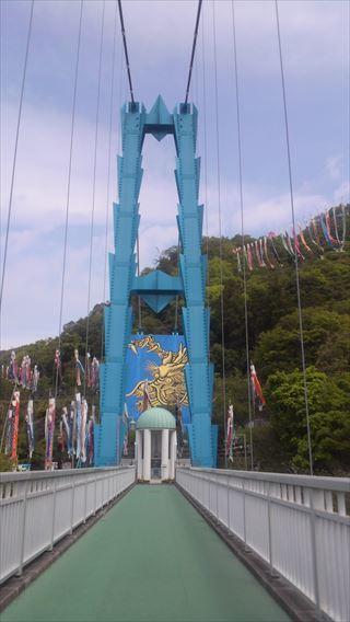 竜神大吊橋左岸側主塔