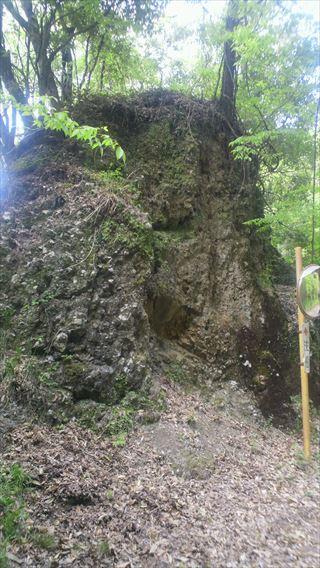 竜神峡の岩2