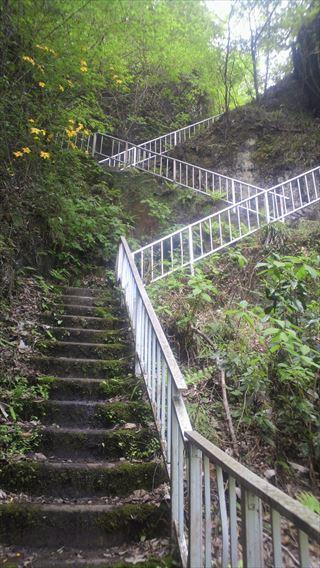 竜神ダム右岸側遊歩道2