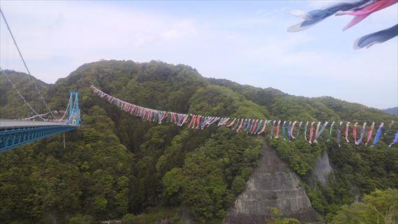 竜神大吊橋右岸側