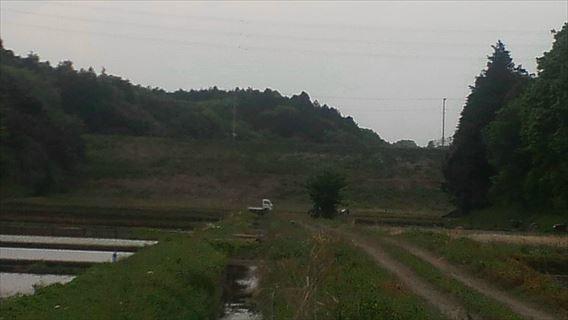 三野輪ダム堤体