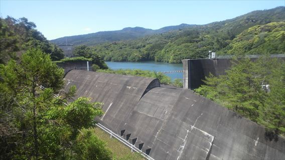 都田川ダム洪水吐