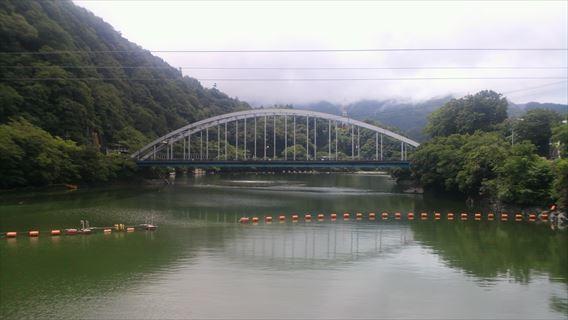 相模ダムから相模湖大橋
