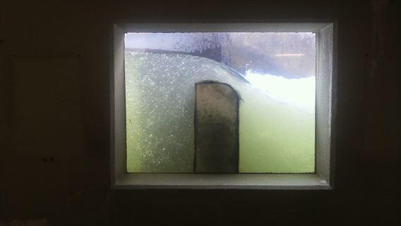 魚道観察窓