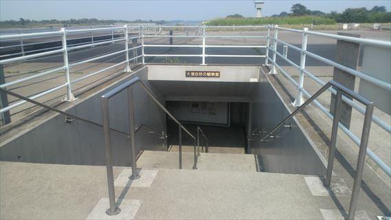 大堰自然の観察室入口