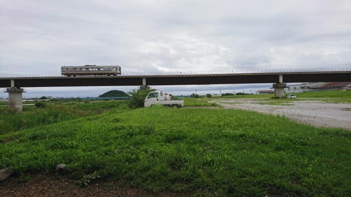 物部川河口