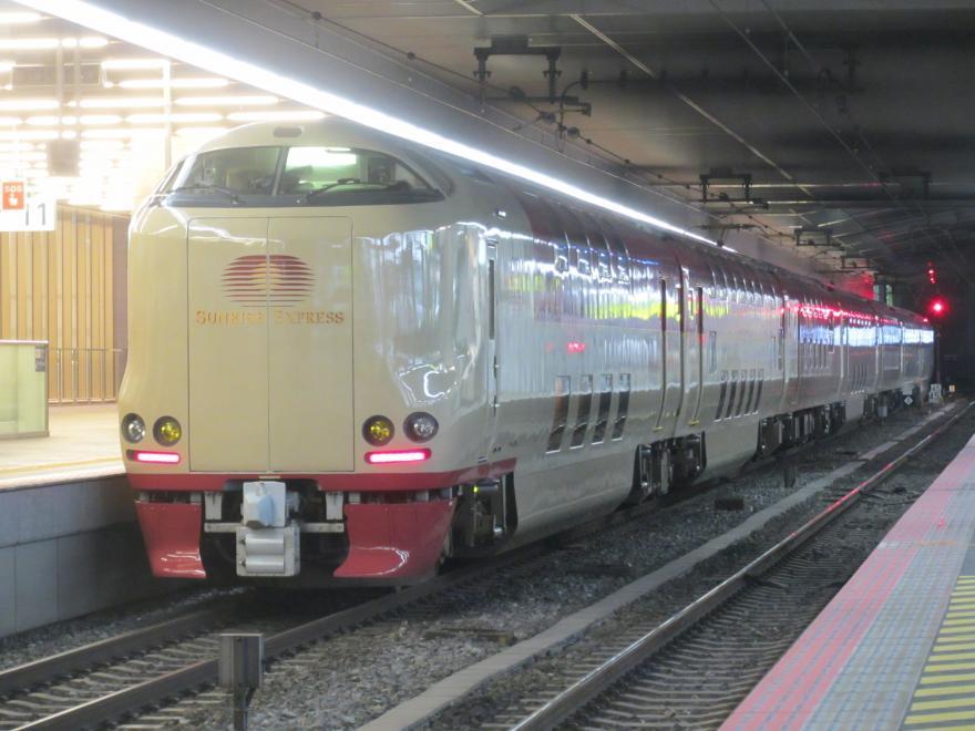 サンライズ出雲92号(大阪駅)2