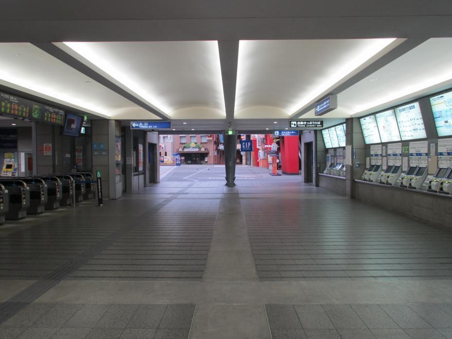 ユニバーサルシティ駅3