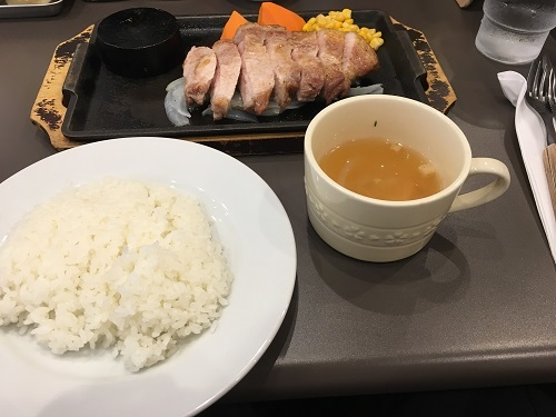 食事 今日ものんびりと 2017/07/23