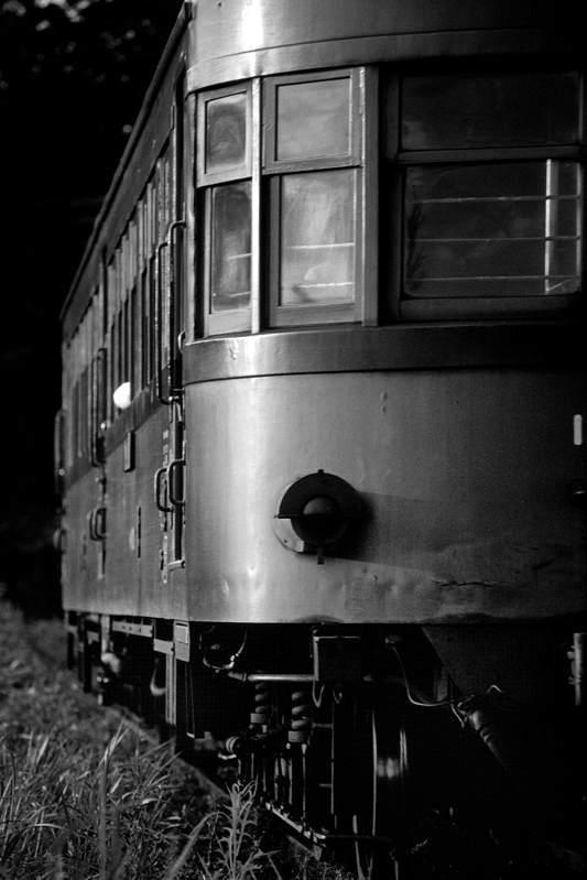 鹿児島交通 キハ100 正面 1980年8月 AdobeRGB 16bit take2b