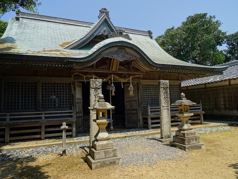 潮岬神社②