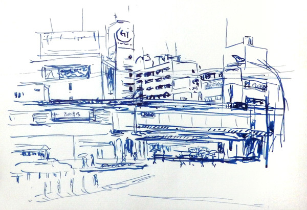 高田馬場高架下