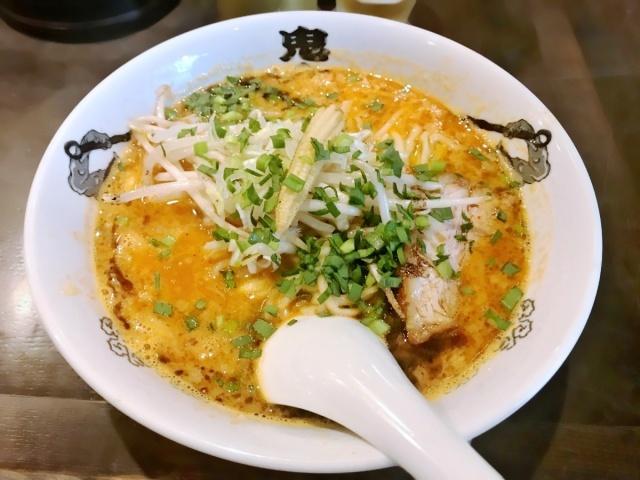 カラシビ味噌らー麺 鬼金棒 (11)