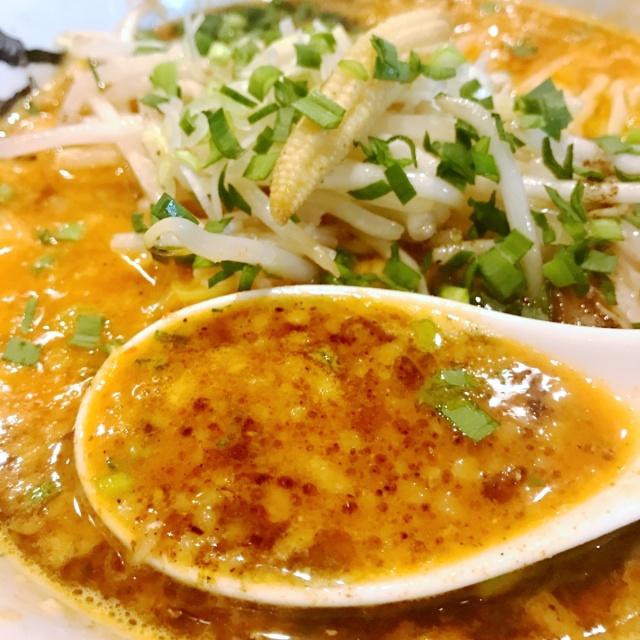 カラシビ味噌らー麺 鬼金棒 (13)