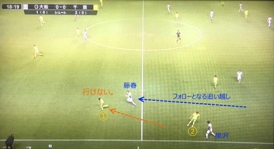 千葉戦_泉沢と藤春②