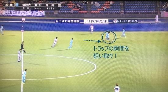 筑波福岡_狙い撃ち②