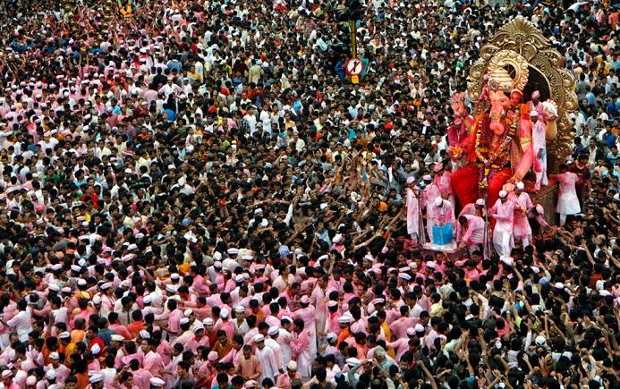 ガネーシャ祭り1