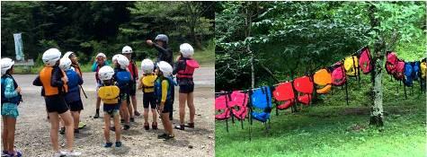 木育キャンプ・準備運動