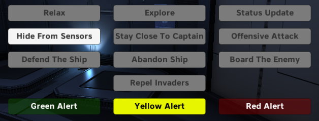 Captains Orders