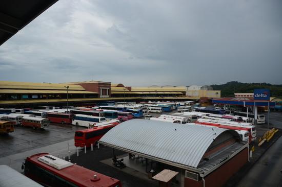 パナマ パナマ運河へ(1)