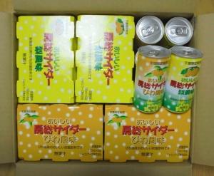 ジャパンフーズ株主優待サイダー