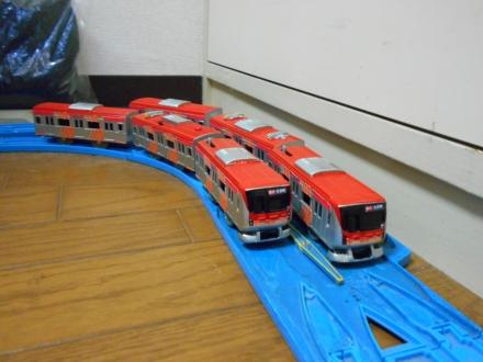 改造プラレール 東急6000系