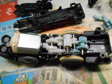 第3弾 新台車のモータを改装してみる。