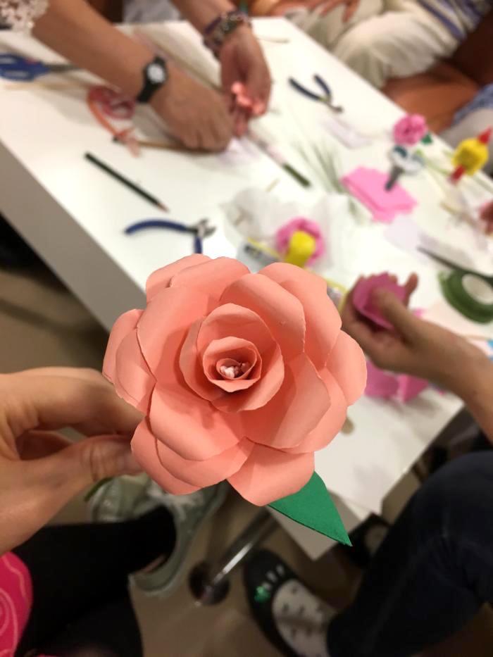 お花製作2