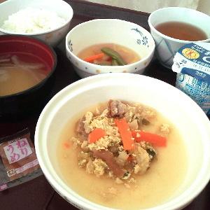 「白菜と麩の玉子とじ」(゚∀゚)ウマウマ
