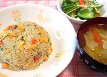 炊飯器 de チャーハン (゚д゚)ウマー