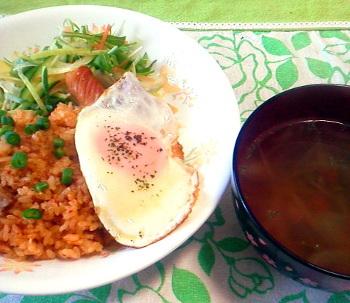 炊飯器 de チキンライス (゚д゚)ウマー