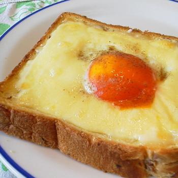 (゚∀゚)ウマウマ チーズタマゴちゃんトースト