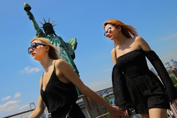 自由の女神たち