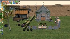 農場温室など