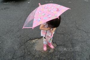 長靴と傘③