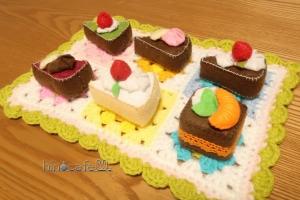 ケーキ屋さんのマット2