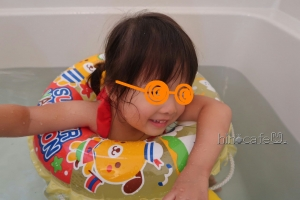 お風呂で練習