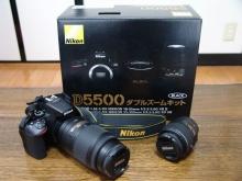 Nikon D5500 ダブルズームキット 買取 広島