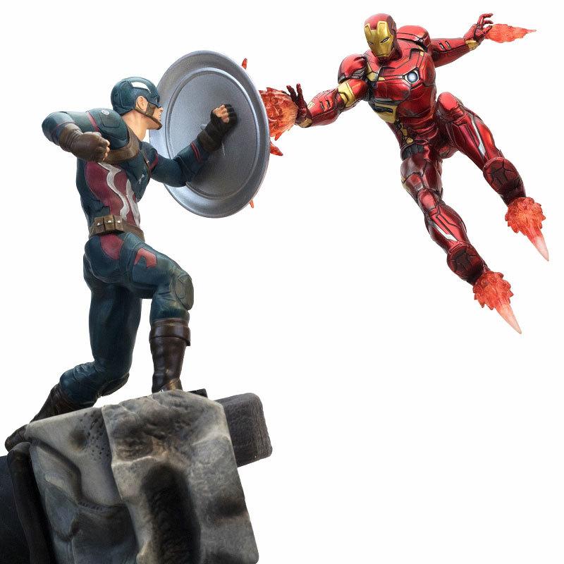 シビル・ウォー キャプテン・アメリカ キャプテン・アメリカ vs アイアンマン マーク46 モーションFIGURE-030340_03